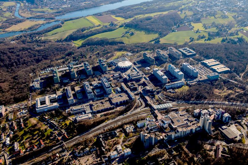 Luftbild der Ruhr-Universität Bochum