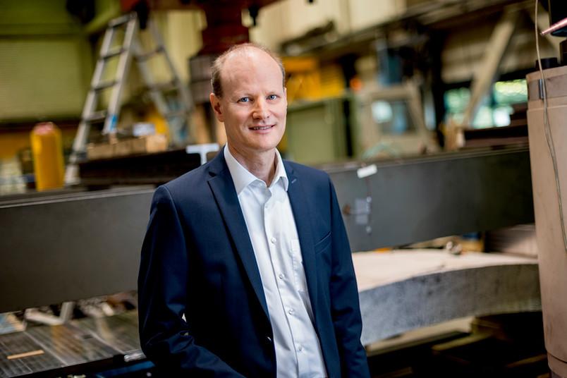 <div> Prof. Dr. Peter Mark hat an der RUB die Professur für Massivbau inne.</div>