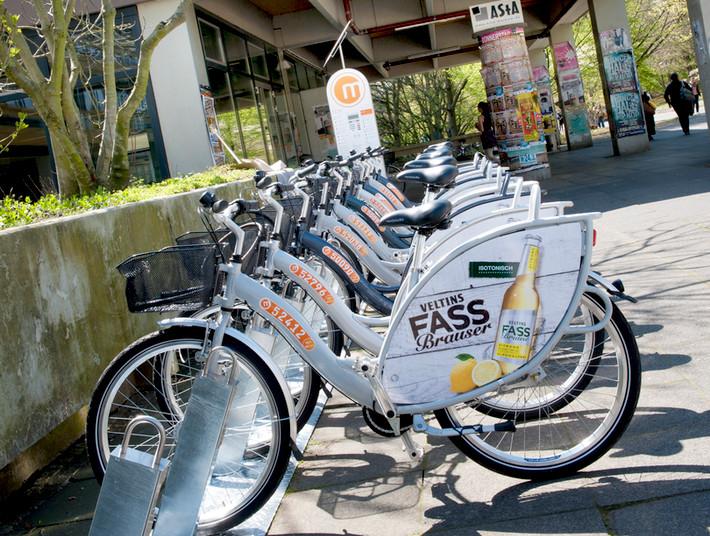 35 neue Ausleihstation für Fahrräder entstehen auf dem Campus und im Bochumer Stadtgebiet.