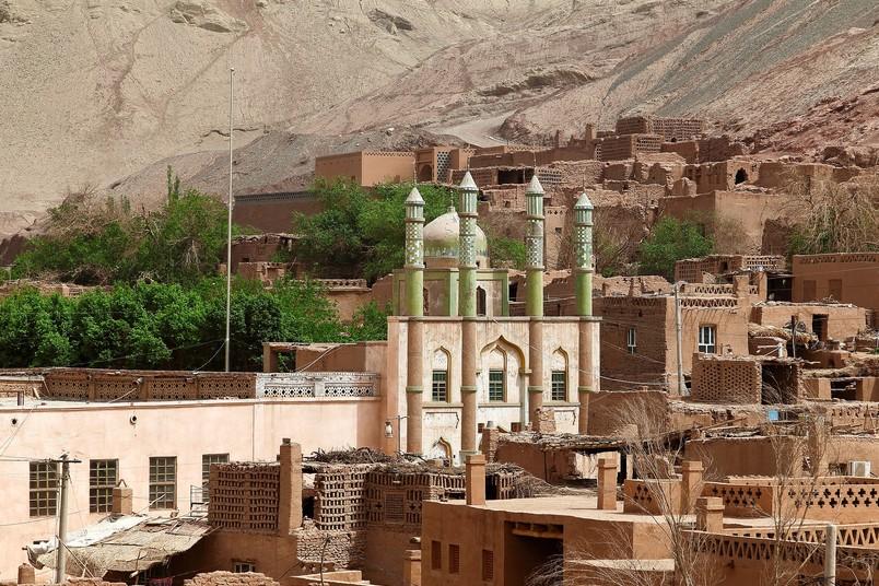 Moschee in der Region Xinjiang in China - Symbolbild für eine Ringvorlesung an der RUB
