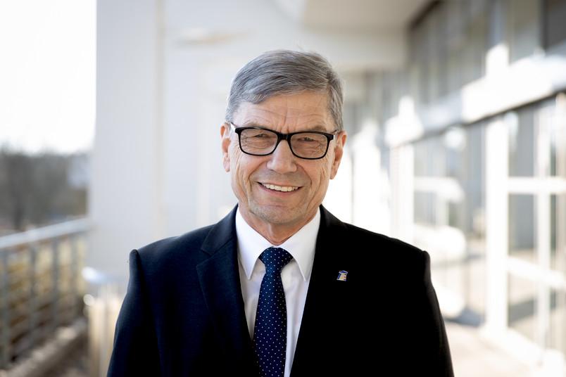 Jürgen Schnell an der RUB: Am 7. Februar 2020 wurde seine Ehrenpromotion im Veranstaltungszentrum gefeiert.