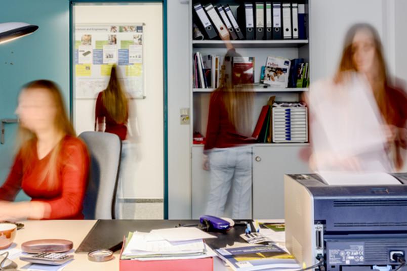 Stress am Arbeitsplatz – keine Seltenheit