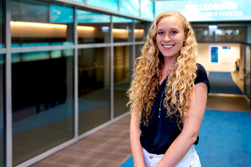 <div> Zwei Monate lang besucht die amerikanische Studentin Sarah Fendrich die Metropole Ruhr.</div>