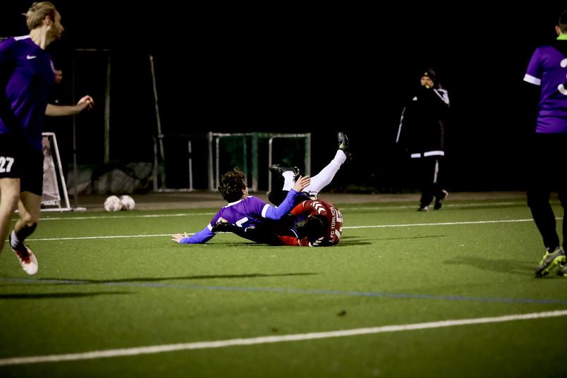 Fußballszene: Foulspiel