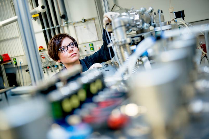 Katharina Stapelmann hat an der RUB einen Prototypen für einen Plasmasterilisator gebaut.