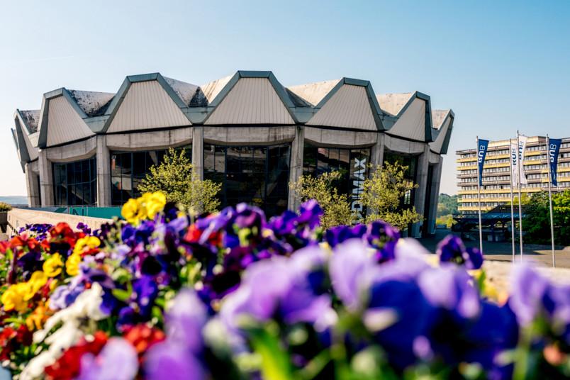 Audimax im Frühling