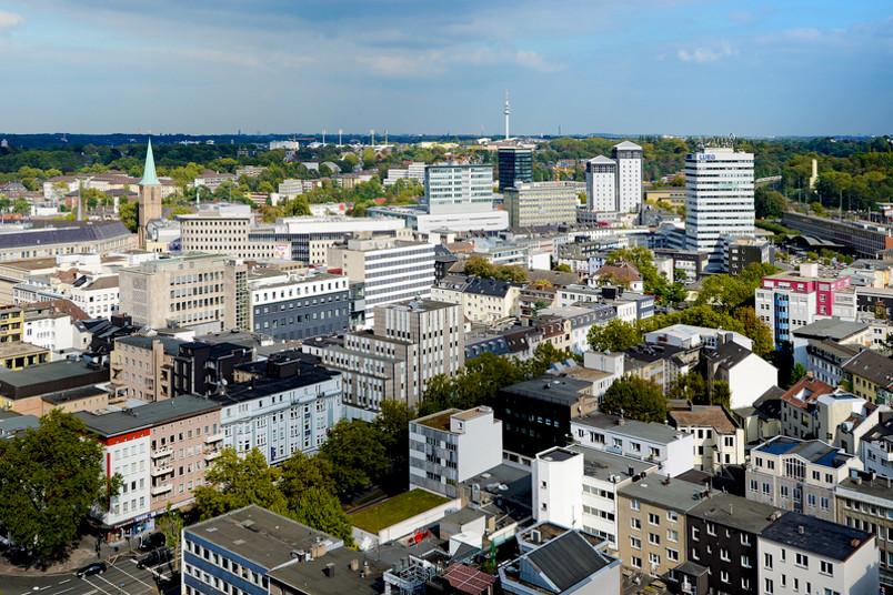 Panorama der Bochumer Innenstadt
