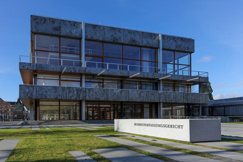 Gebäude des Bundesverfassungsgerichts in Karlsruhe