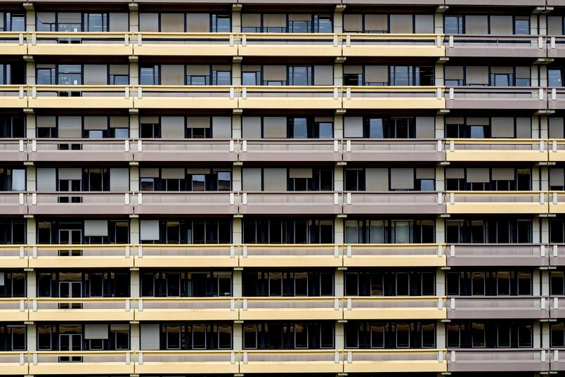 Fassade einers Unigebäudes