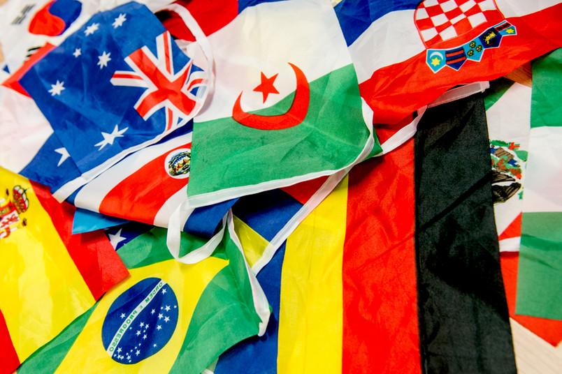 Flaggen aus aller Welt
