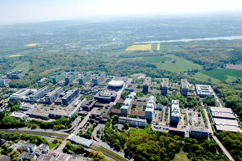 Luftaufnahme der Ruhr-Universität Bochum