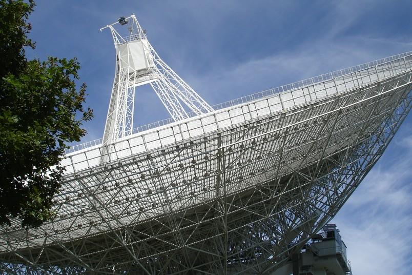 Radioteleskop-Anlage in Effelsberg