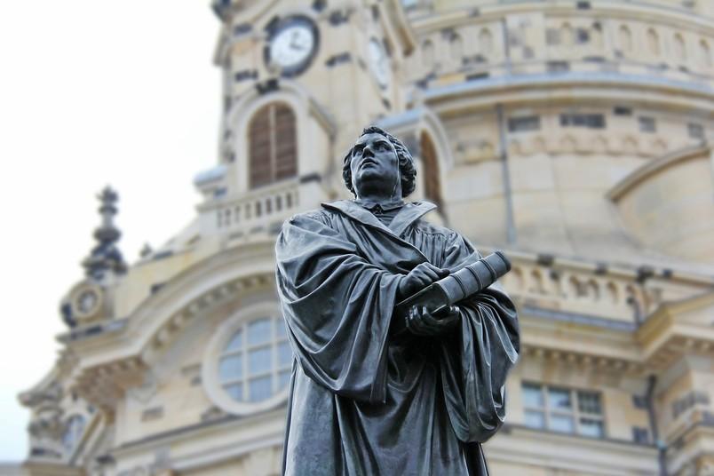Statue von Luther