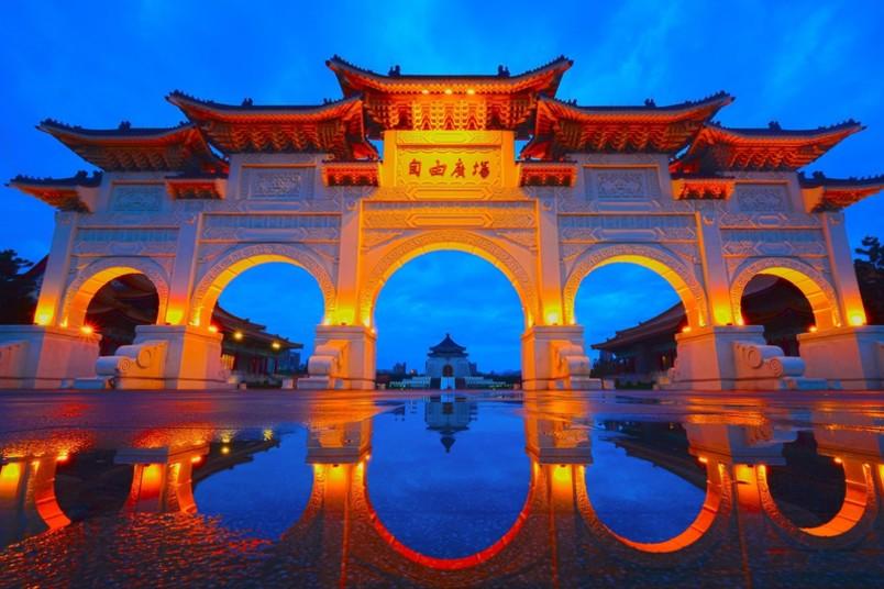 Impression aus Taipeh, der Hauptstadt Taiwans