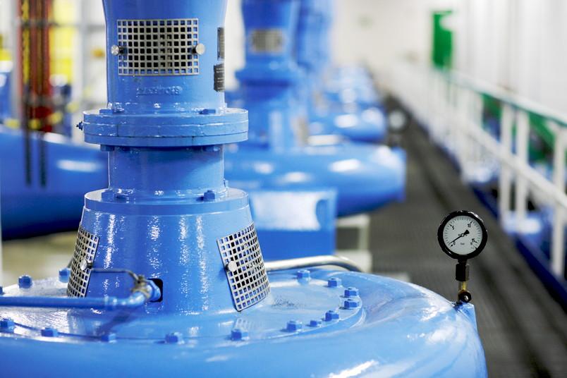 Kreiselpumpen in der Wasserwirtschaft