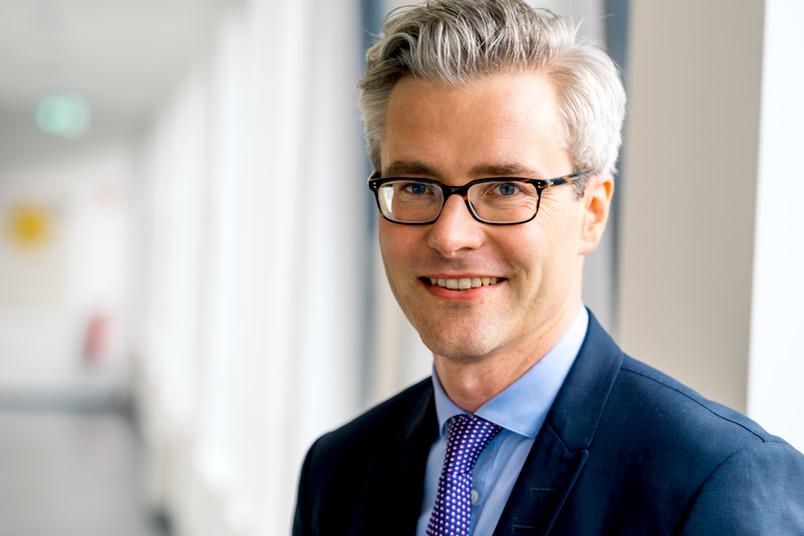 Porträt von Jurist Sebastian Unger