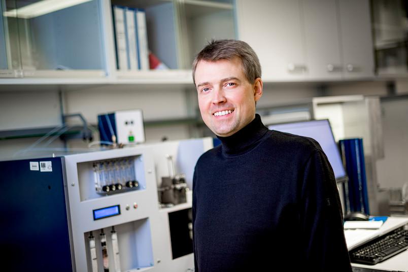 Sebastian Weber, Inhaber Lehrstuhl Werkstofftechnik