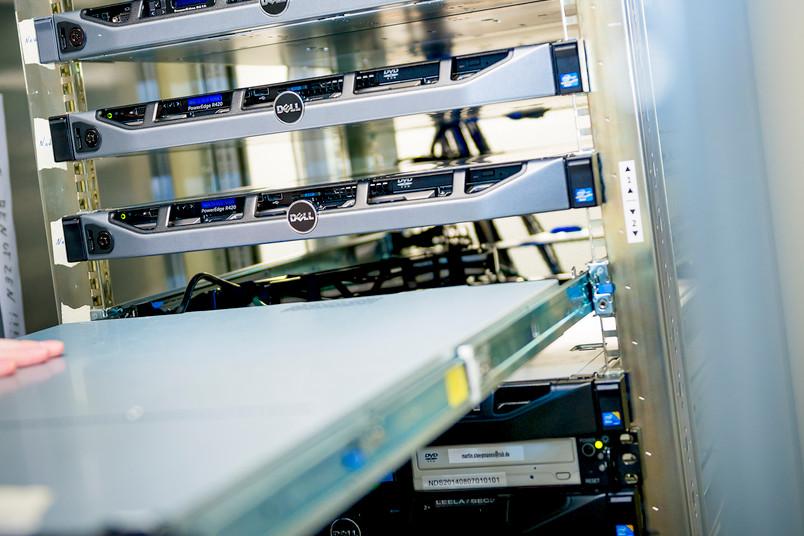 Das Herzstück der IT-Forschung: hochmoderne Rechner